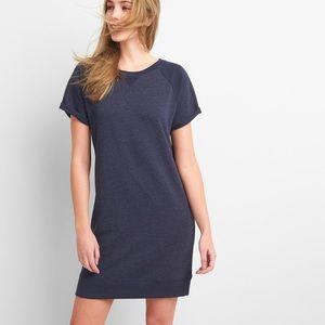 GAP blue sweatshirt dress